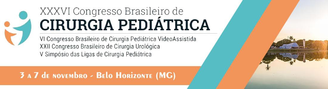 XXXVI Congresso Brasileiro de Cirurgia Pediátrica